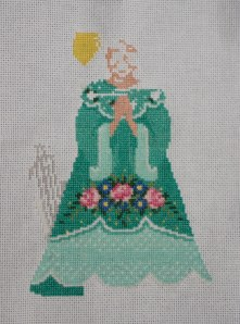 updated photo of angel cross stitch.