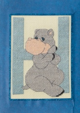 Full front of Hippo card