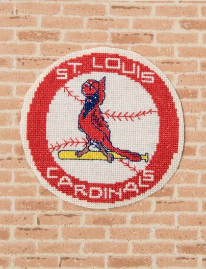Front of Cardinals card
