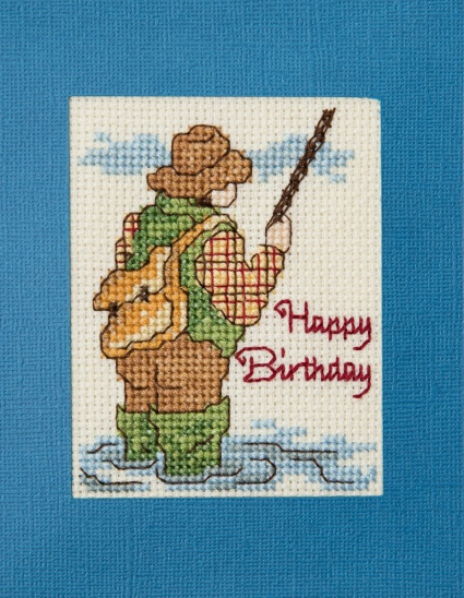 full front of fisherman card