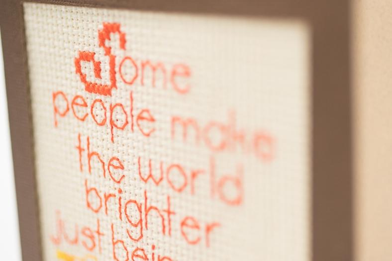 birghter card text