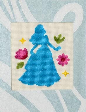 full front of princess card